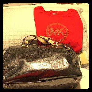 Genuine Michael Kors Combo!! Tee(L) $150.00!